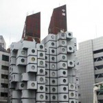 Nakagin Capsule Tower (Япония)