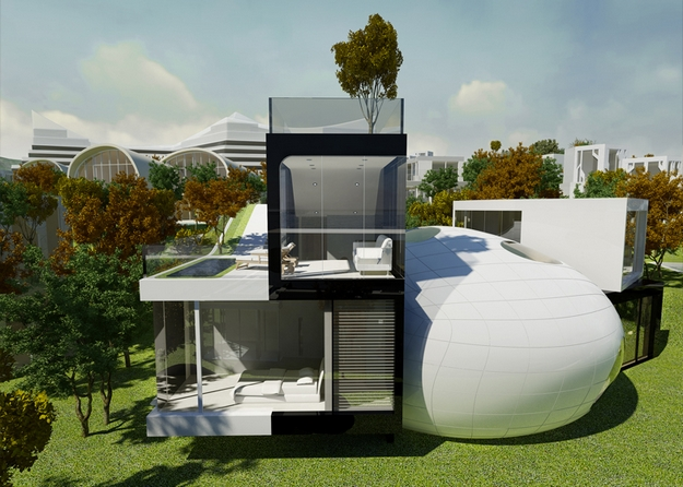 cocoon-house