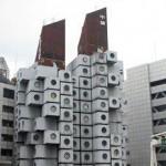 Nakagin Capsule Tower (Япония)