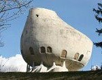 Weird House in Alps